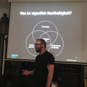 Pablo Rohrssen - Nachhaltigkeit